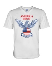 Trump  2020  t shirt V-Neck T-Shirt thumbnail