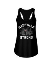 Nashville strong shirt Ladies Flowy Tank thumbnail