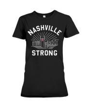 Nashville strong shirt Premium Fit Ladies Tee thumbnail