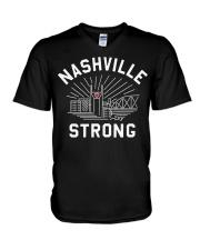Nashville strong shirt V-Neck T-Shirt thumbnail