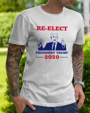 Trump for president 2020 Shirt Premium Fit Mens Tee lifestyle-mens-crewneck-front-7