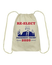 Trump for president 2020 Shirt Drawstring Bag thumbnail