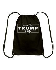 Re-elect Trump 2020 T Shirt Drawstring Bag thumbnail