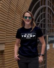 Re-elect Trump 2020 T Shirt Premium Fit Ladies Tee lifestyle-women-crewneck-front-2
