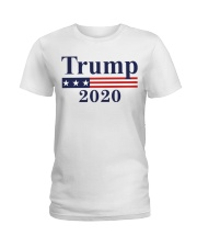 Trump 2020 womens T shirt  Ladies T-Shirt front