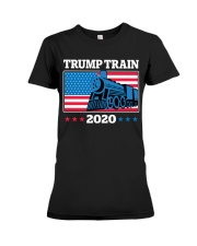 Trump Train 2020 T Shirt Premium Fit Ladies Tee thumbnail