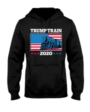 Trump Train 2020 T Shirt Hooded Sweatshirt thumbnail
