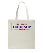 Re-Elect Trump 2020 T Shirt Tote Bag tile