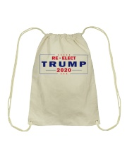 Re-Elect Trump 2020 T Shirt Drawstring Bag tile