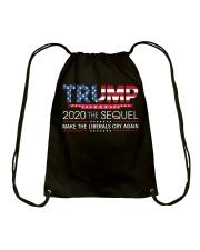 Trump 2020 The Sequel  T Shirt Drawstring Bag thumbnail