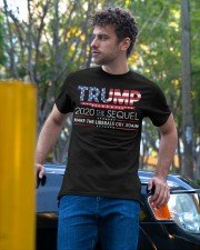 Trump 2020 The Sequel  T Shirt Classic T-Shirt apparel-classic-tshirt-lifestyle-front-44