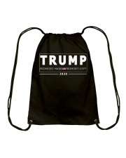 Trump 2020 T Shirt Drawstring Bag thumbnail