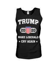 Trump 2020 Make Liberals Cry Again T-Shirt Unisex Tank tile