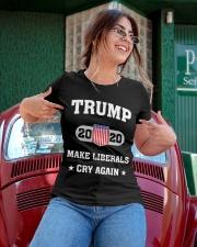 Trump 2020 Make Liberals Cry Again T-Shirt Ladies T-Shirt apparel-ladies-t-shirt-lifestyle-01