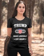 Trump 2020 Make Liberals Cry Again T-Shirt Ladies T-Shirt apparel-ladies-t-shirt-lifestyle-05