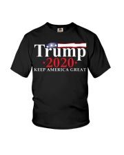 Trump 2020 flag shirt Youth T-Shirt thumbnail