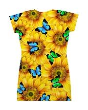 Sunflower Butterfly All-over Dress back