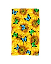 Sunflower Butterfly Hand Towel thumbnail