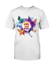 Live Love Laugh Butterfly  Classic T-Shirt thumbnail