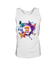 Live Love Laugh Butterfly  Unisex Tank tile
