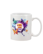 Live Love Laugh Butterfly  Mug tile