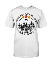 Gonna Chill with the Moon Classic T-Shirt front