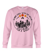 Gonna Chill with the Moon Crewneck Sweatshirt thumbnail