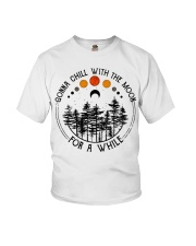 Gonna Chill with the Moon Youth T-Shirt thumbnail