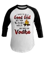 Good Girl Vodka Baseball Tee thumbnail