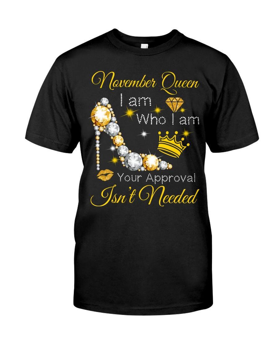 November Gift for Birthday Girl Classic T-Shirt