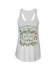 November Gift for Birthday Girl Ladies Flowy Tank thumbnail