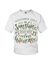 November Gift for Birthday Girl Youth T-Shirt thumbnail