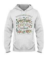 November Gift for Birthday Girl Hooded Sweatshirt thumbnail