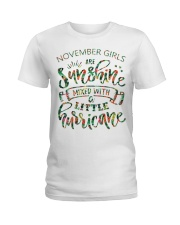 November Gift for Birthday Girl Ladies T-Shirt thumbnail