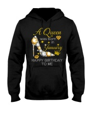 January Gift for Birthday Girl Hooded Sweatshirt thumbnail