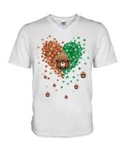 Smokey Lovers V-Neck T-Shirt thumbnail