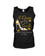 December Gift for Birthday Girl Unisex Tank thumbnail