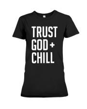 Trust God Premium Fit Ladies Tee thumbnail