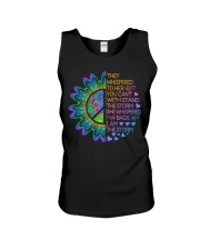 Hippie Strong Woman Unisex Tank thumbnail