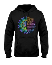 Hippie Strong Woman Hooded Sweatshirt thumbnail