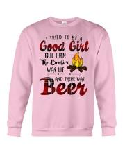 Good Girl Beer Crewneck Sweatshirt thumbnail