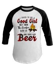 Good Girl Beer Baseball Tee thumbnail