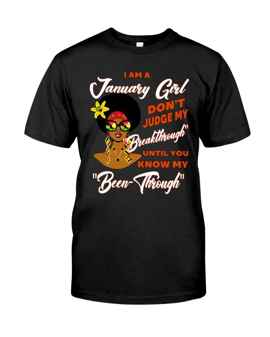 January Gift for Birthday Girl Classic T-Shirt