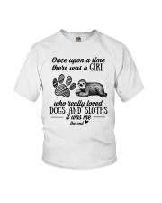 Dog and Sloths Youth T-Shirt thumbnail