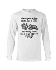 Dog and Sloths Long Sleeve Tee thumbnail