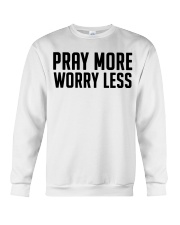 PRAY MORE Crewneck Sweatshirt thumbnail