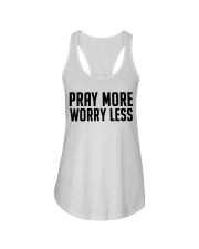 PRAY MORE Ladies Flowy Tank thumbnail