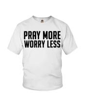 PRAY MORE Youth T-Shirt thumbnail