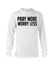 PRAY MORE Long Sleeve Tee thumbnail