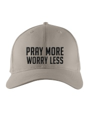 PRAY MORE Embroidered Hat front